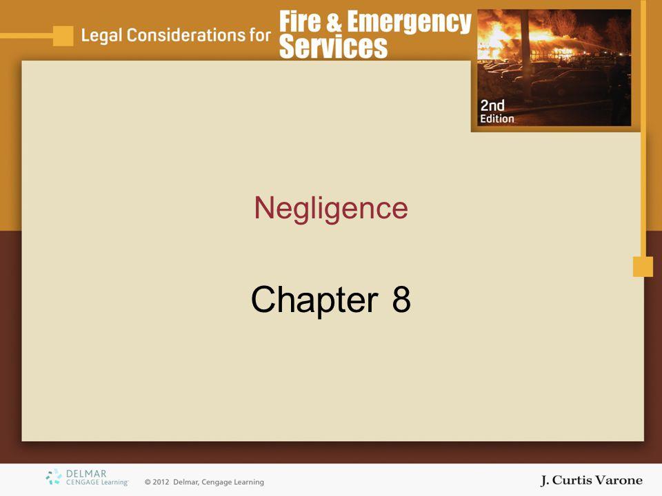Negligence Chapter 8