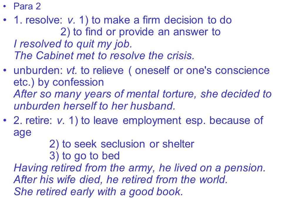 Para 2 1. resolve: v.