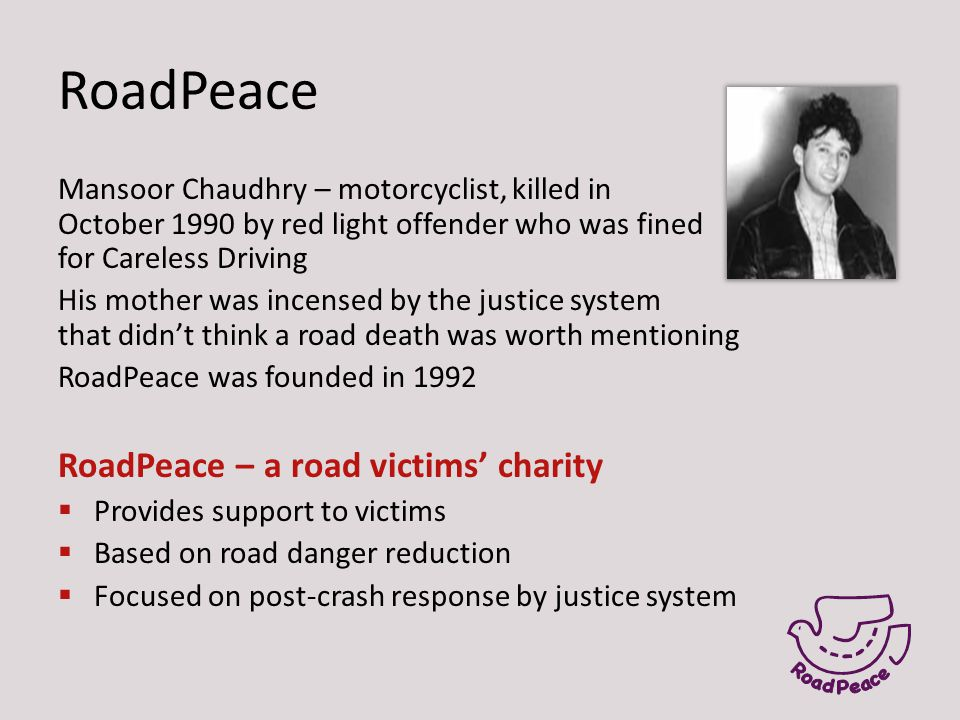 Reasons for hope 1.Increased TLE and inclusion of CJS in TfL road safety plans 2.