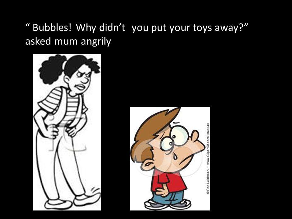 """OH NO! grandma fell!"" yelled Bubbles"