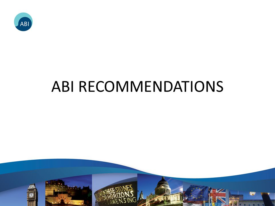 ABI RECOMMENDATIONS