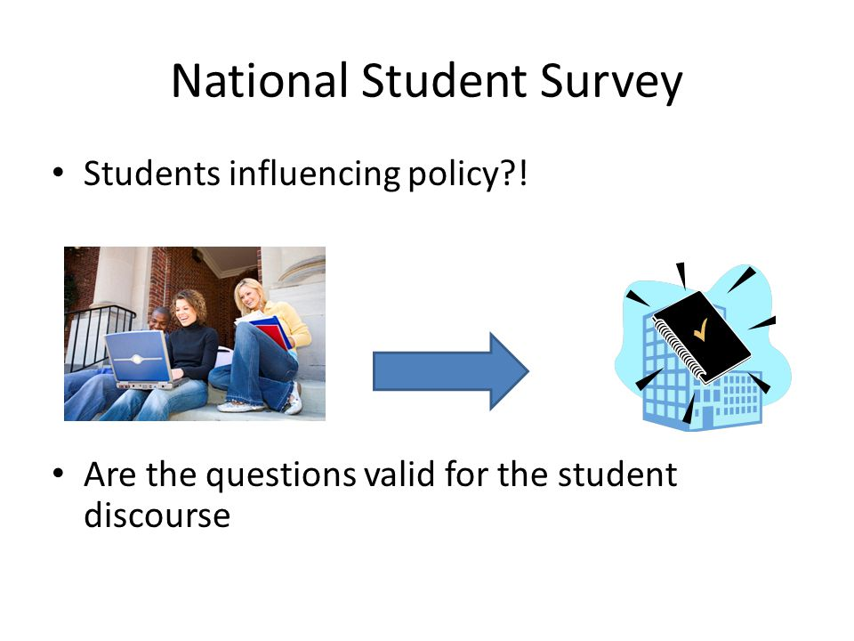 National Student Survey Students influencing policy?.
