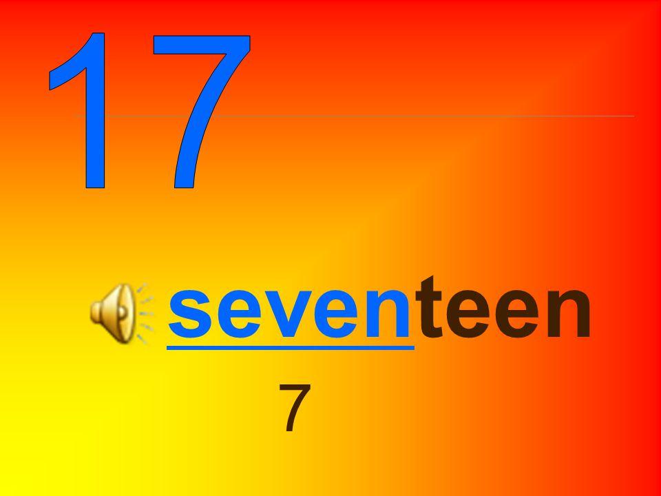 sixteen 6