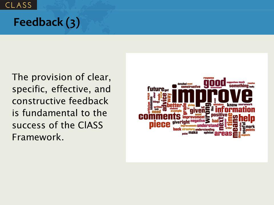 Feedback: Basic Principles (1) 1.