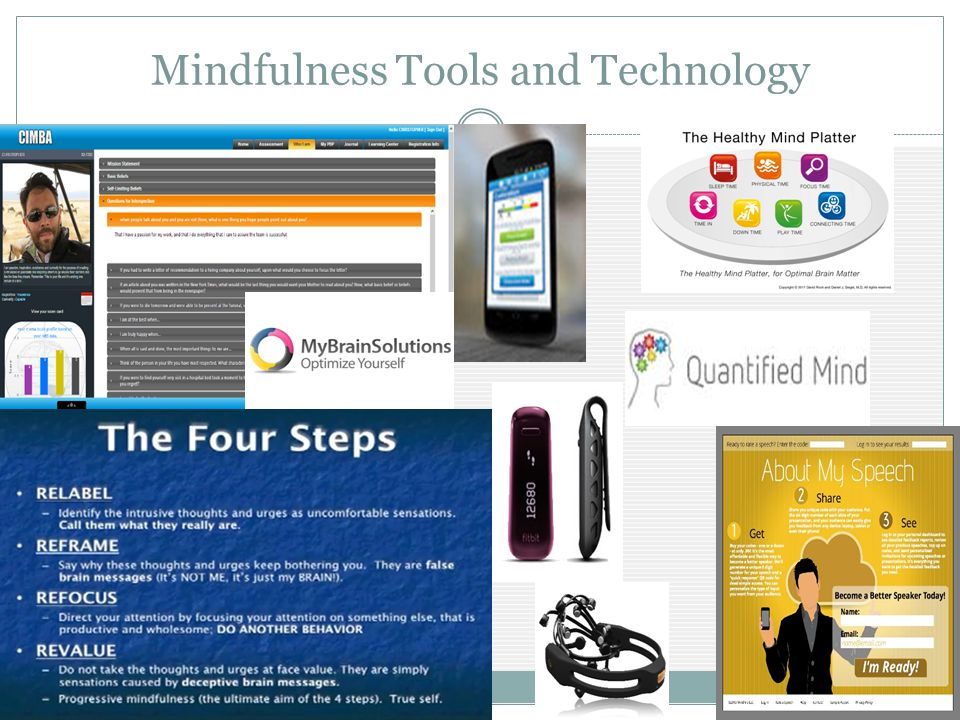 Mindfulness Tools and Technology