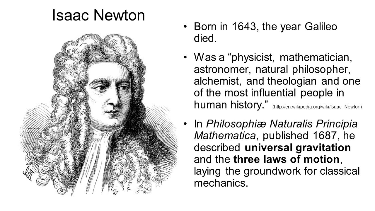 Newton's Second Law The acceleration of an object is directly proportional to the net force acting on it, and inversely proportional to its mass.