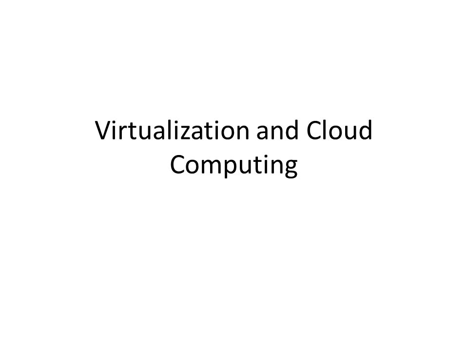 Definition Virtualization is the ability to run multiple operating systems on a single physical system and share the underlying hardware resources* It is the process by which one computer hosts the appearance of many computers.