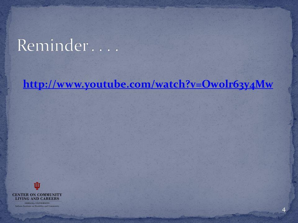 http://www.youtube.com/watch?v=Ow0lr63y4Mw 4