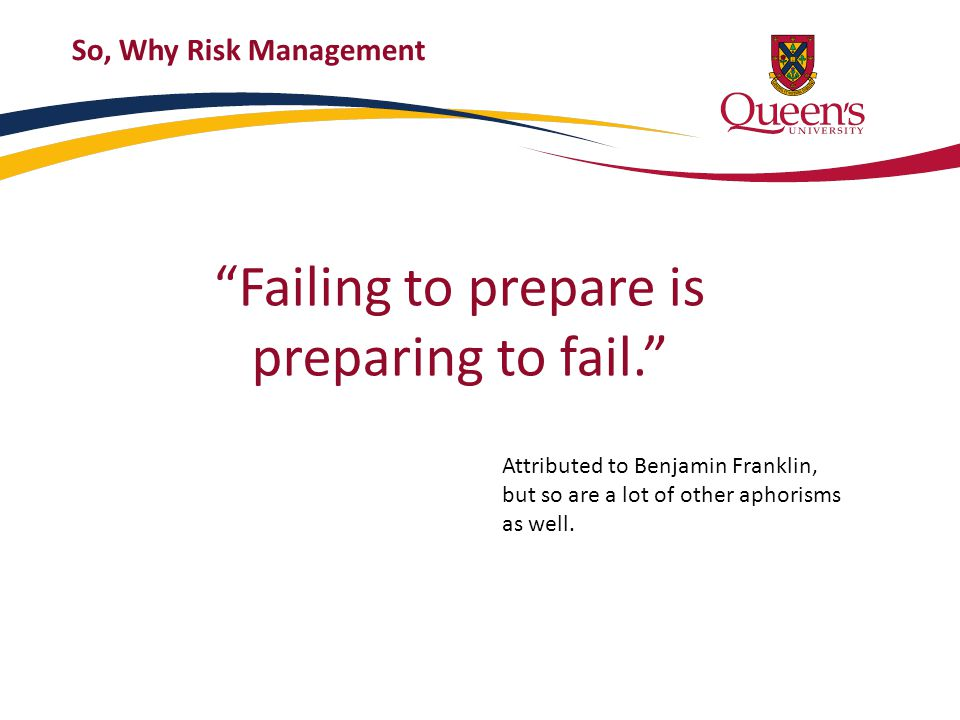 CAS Definition of ERM ERM is the discipline by which an organization in any industry assesses, controls, exploits, finances and monitors risks from all sources for the purpose of increasing the organization ' s short- and long-term value to its stakeholders Casualty Actuarial Society: Overview of Enterprise Risk Management – May 2003