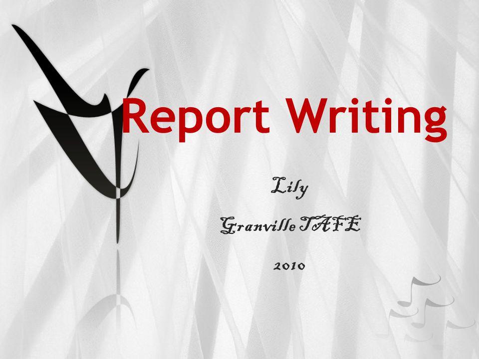 Lily Granville TAFE 2010