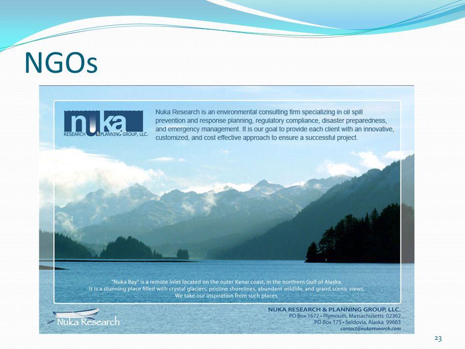 NGOs 23
