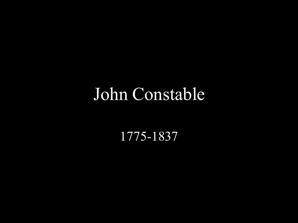 John Constable, A Boat Passing a Lock, 1824