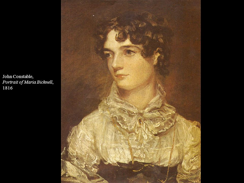 John Constable, Portrait of Maria Bicknell, 1816