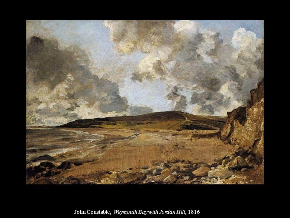 John Constable, Weymouth Bay with Jordan Hill, 1816