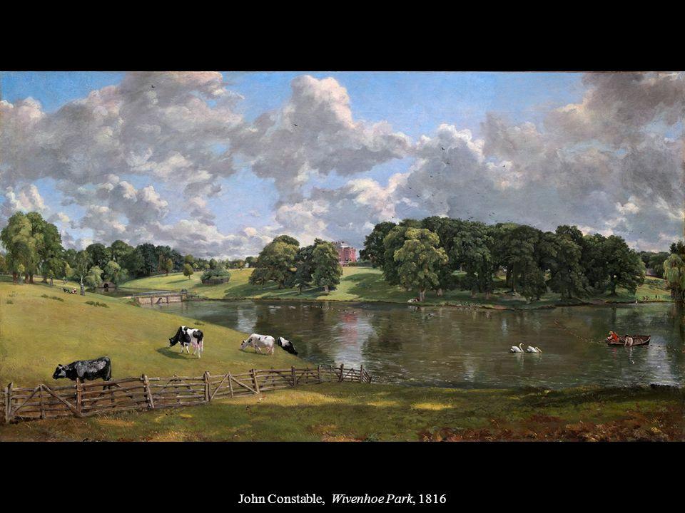 John Constable, Wivenhoe Park, 1816