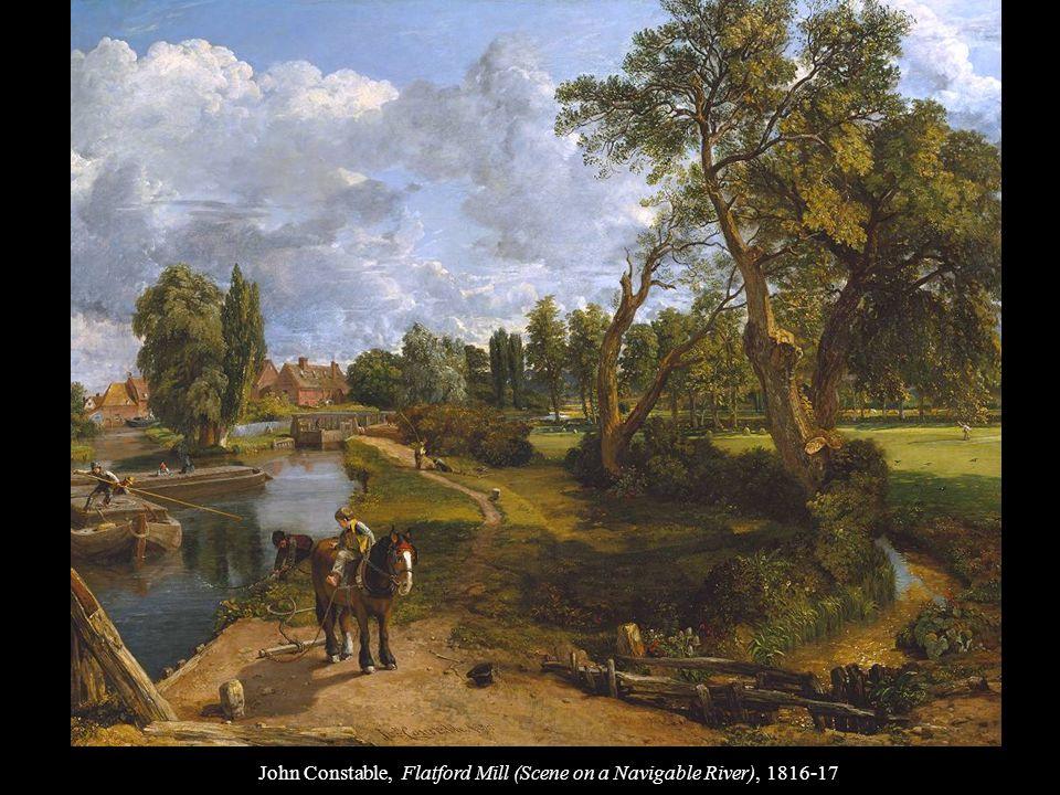 John Constable, Flatford Mill (Scene on a Navigable River), 1816-17