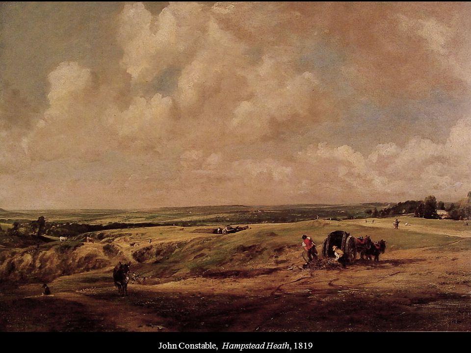 John Constable, Hampstead Heath, 1819