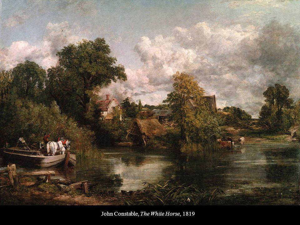 John Constable, The White Horse, 1819