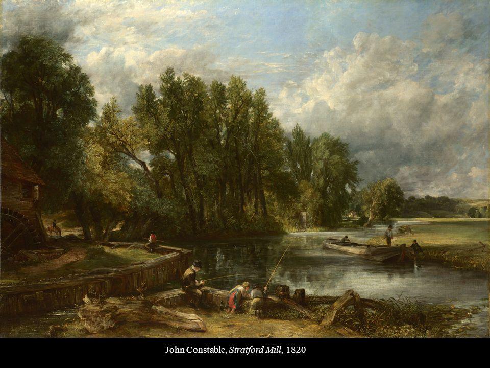 John Constable, Stratford Mill, 1820