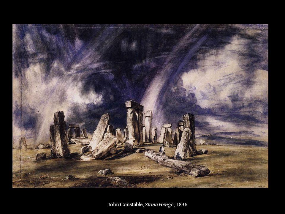 John Constable, Stone Henge, 1836