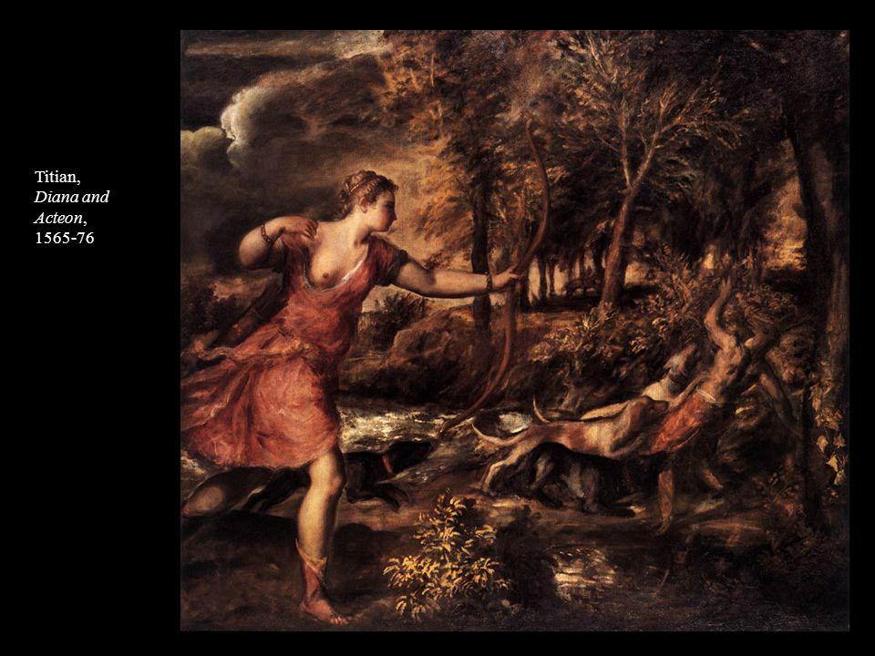 Titian, Diana and Acteon, 1565-76