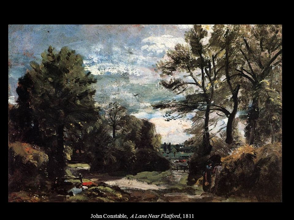 John Constable, Flatford Mill from a Lock on the Stour, 1811