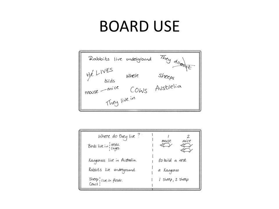 BOARD USE