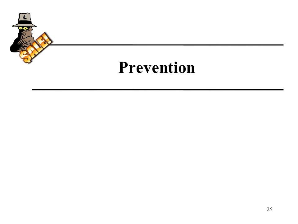 Prevention 25