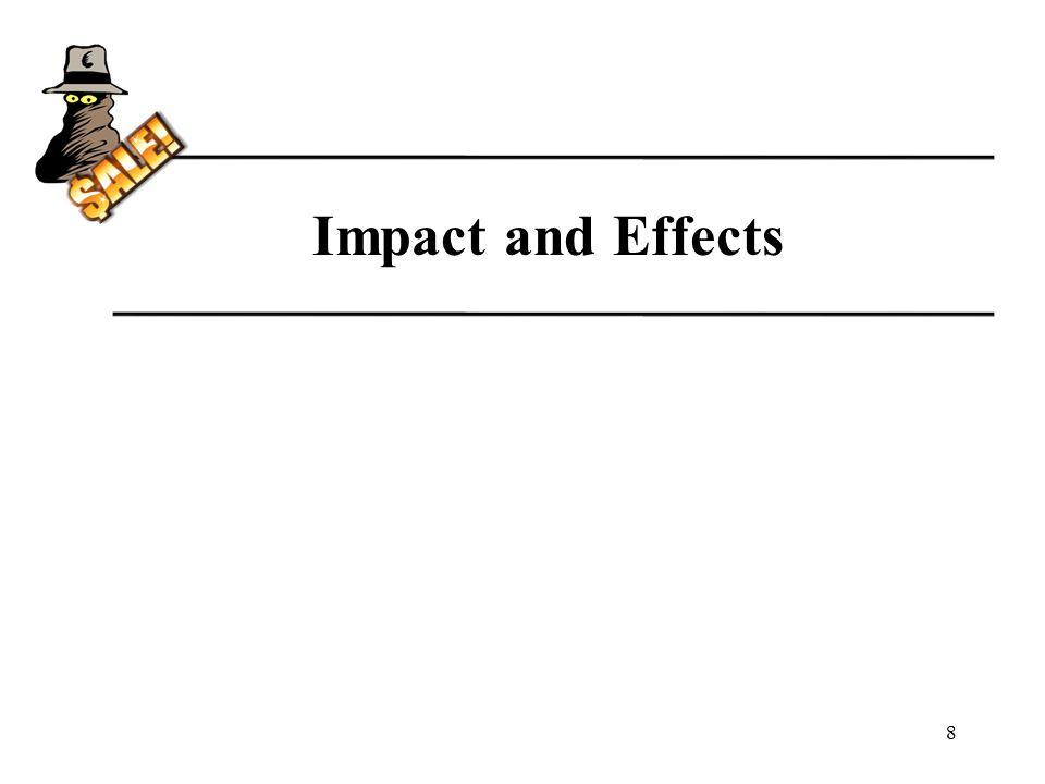 Impact and Effects 8