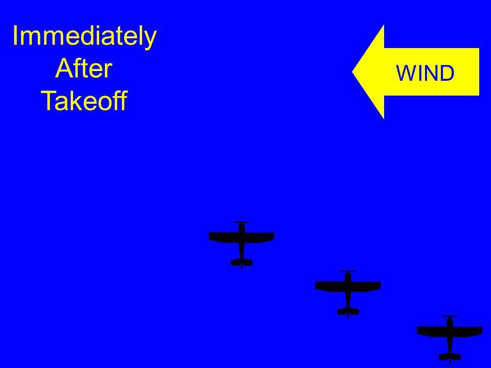 Immediately After Takeoff WIND