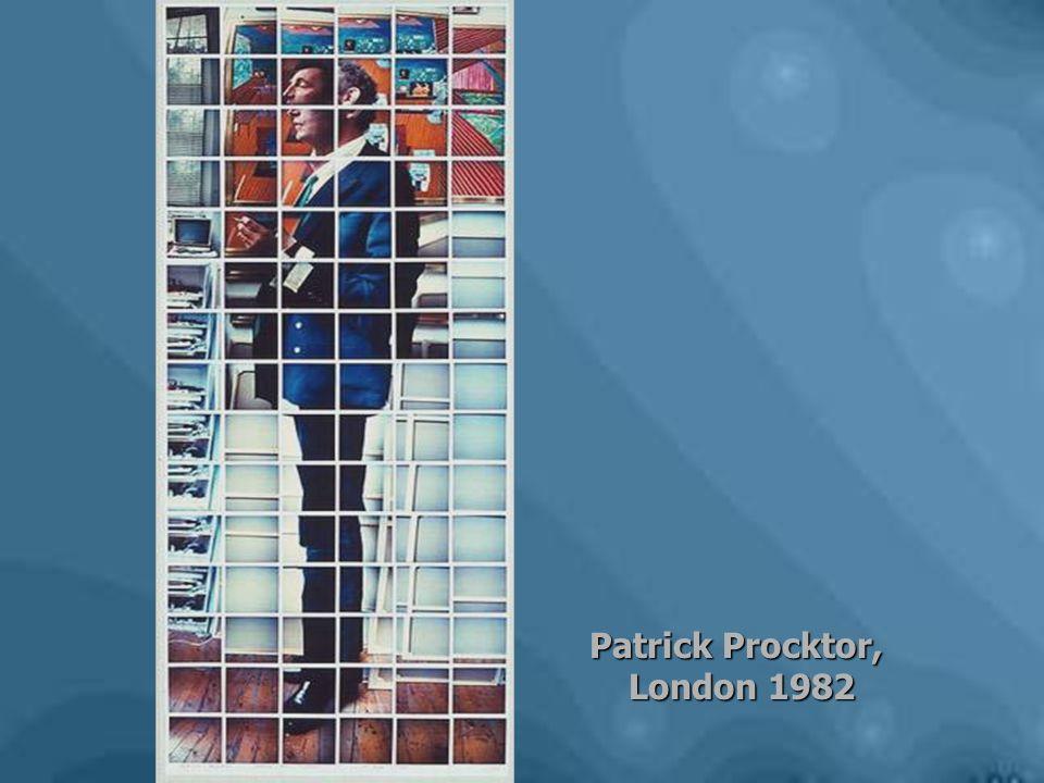 Patrick Procktor, London 1982