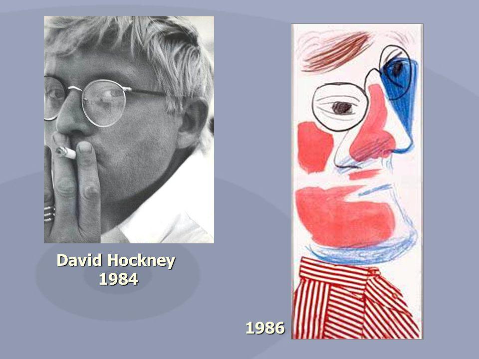 David Hockney 1984 1984 1986