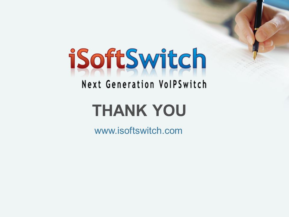 THANK YOU www.isoftswitch.com