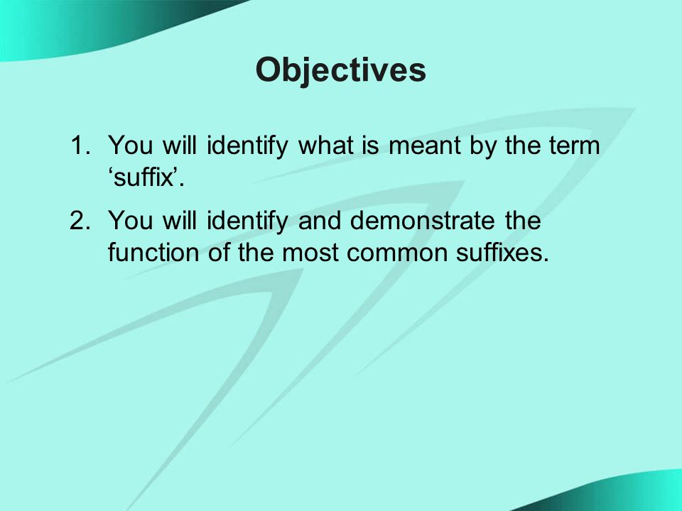 Most Frequent Suffixes Word Endings You Can Really Use Developed by Ivan Seneviratne