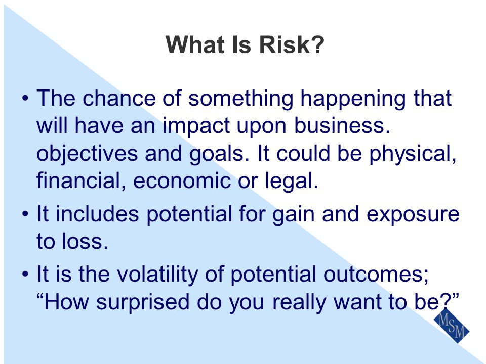 Review & Updates Our Risk Management Policy & Procedures will be reviewed on an annual basis as part of our the Business Planning process or after any major or catastrophic loss or near loss impacting on the business.