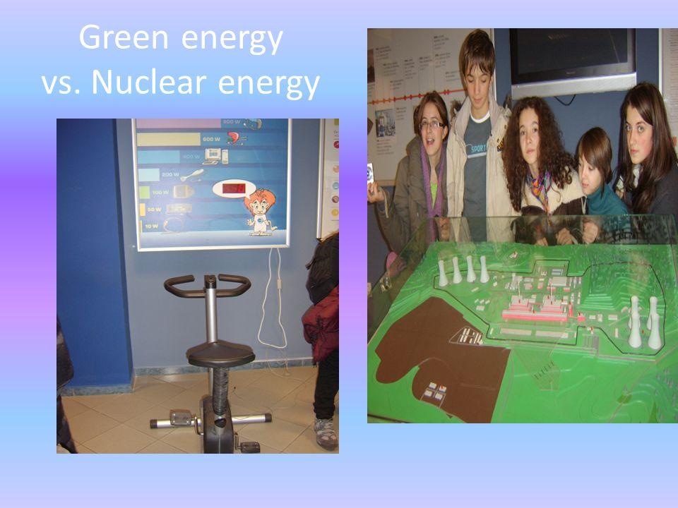 Green energy vs. Nuclear energy