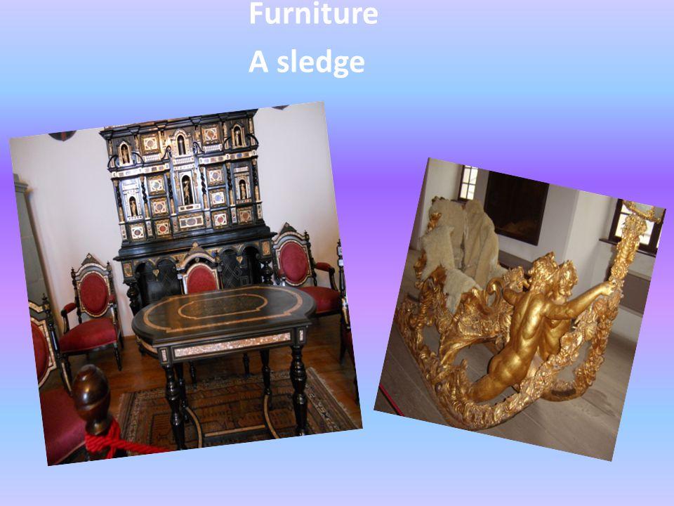 Furniture A sledge