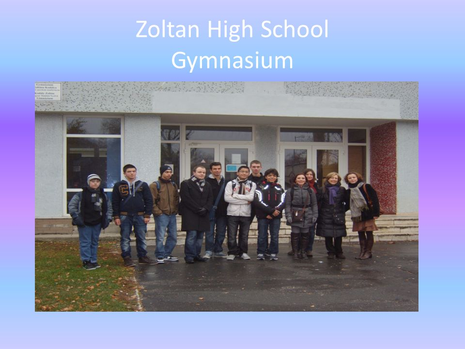 Zoltan High School Gymnasium