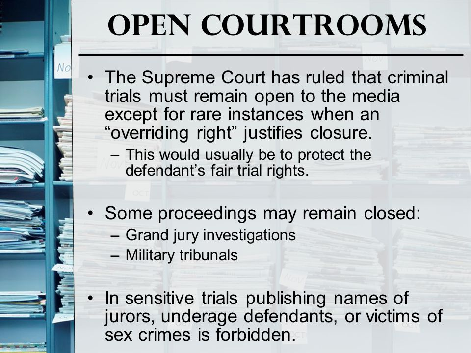 Intrusion If you gather information unethically, without even writing a story, you may be sued.