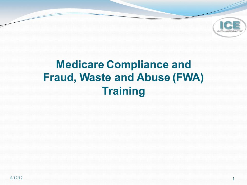 Specialized Compliance Training Requirement (continued) (Examples Continued) Negotiating pharmacy network agreements; Administering the Compliance Program and operations, i.e., the Medicare Compliance Officer and his/her staff; Conducting administrative activities necessary for the operation of the Part C and D benefits; Managing employer group plans; and Security and authentication instructions involved in Health Information Technology.