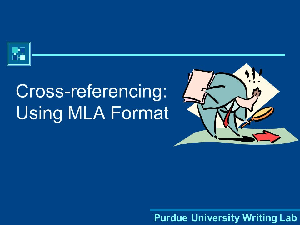 Purdue University Writing Lab Most citations should contain the following basic information: Author's name Title of work Publication information Works Cited