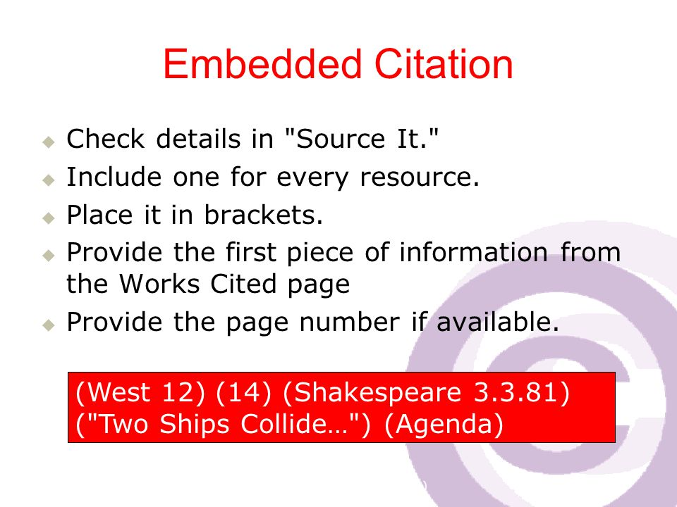 Cawthra Park S. S. (sept 2008) Embedded Citation  Check details in