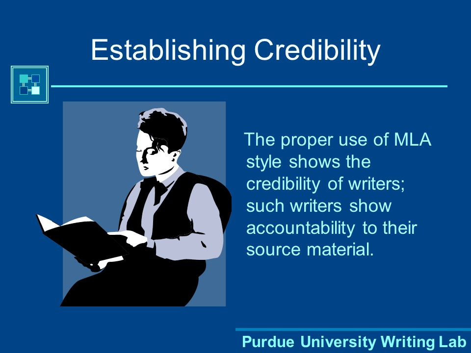 Purdue University Writing Lab Using a Consistent Format Using a consistent format helps your reader understand your arguments and the sources they're