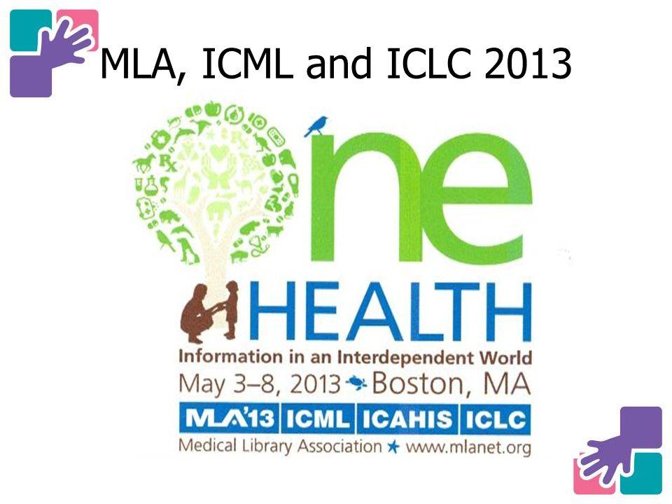 MLA, ICML and ICLC 2013