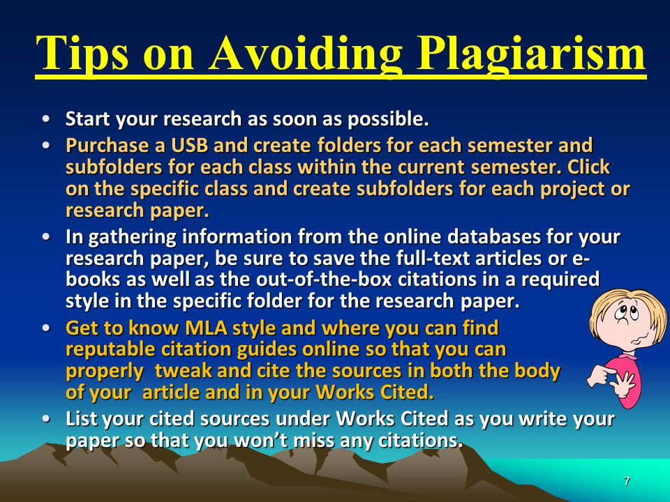 Start your research as soon as possible.Start your research as soon as possible.