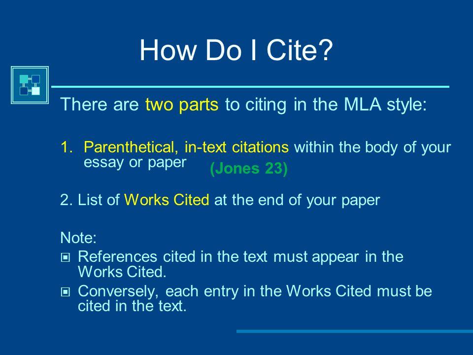 How Do I Cite.