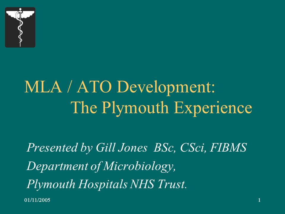 12 Outcomes: ……..Summarised A clearly defined training pathway was developed for ATO staff: ATO  SATO  MTO (via LATA NVQ 3)    Trainee BMS (via Access Course) It provided the Plymouth Pathology Directorate with a stable ATO workforce.
