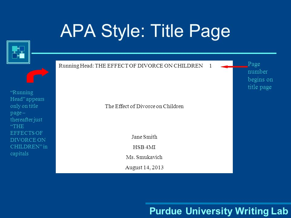 Title Page Page header: (use Insert Page Header) title flush left + page number flush right. Title: - include a creative title for your report ***not