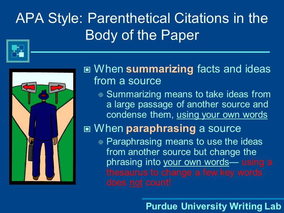 Purdue University Writing Lab APA Style: Abstract THE EFFECT OF DIVORCE ON CHILDREN2 Abstract Write a concise summary of the key points of your research.