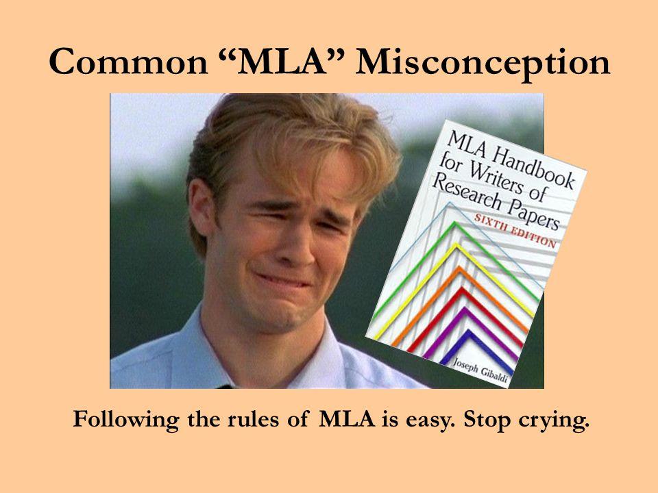 MLA Fundamentals MLA Fundamentals The Modern Language Association Mr.